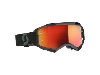 Fury Goggle Glas: orange chro wks Schwarz