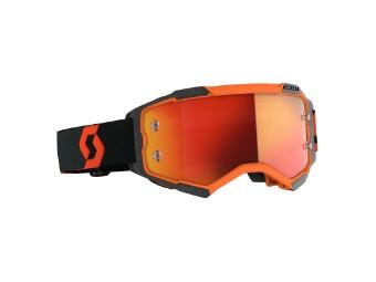 Goggle Fury orange/black
