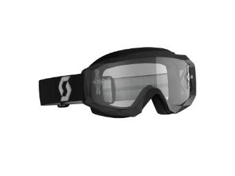 Goggle Hustle X MX schwarz/grau
