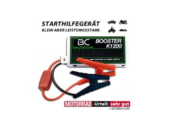 Booster BC K1200 LiFePO4-Technologie Batterie-Booster