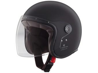 Freeride Jet-Helm Matt-Schwarz