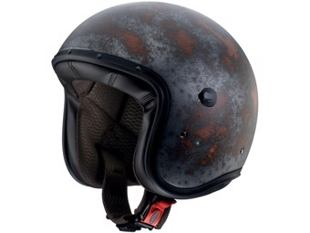 Freeride Jet-Helm Rusty