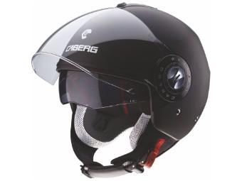 Riviera V3 Jet-Helm Matt-Schwarz