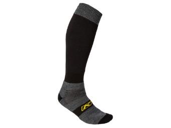 Socke schwarz