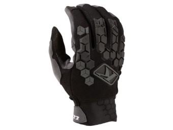 Dakar Handschuhe Schwarz