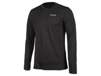 Teton Merino Wolle LS Shirt Schwarz