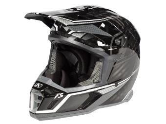 F5 Koroyd MX-Helm Korotek-Grey