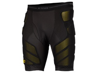 Tactical Short Protektoren-Hose Black
