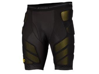Tactical Short Protektoren-Hose Black