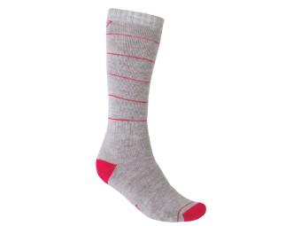Hibernate Socke Damen grau