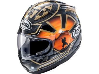 RX-7V Pedrosa Spirit Gold Helm
