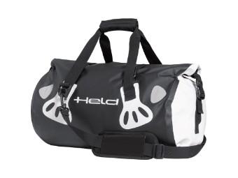Gepäckrolle Carry Bag 30 Liter schwarz/weiß