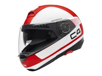 C4 Klapp-Helm Legacy Red (matt)