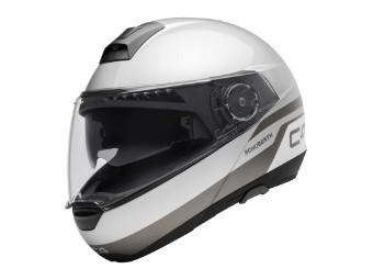 C4 Klapp-Helm Pulse Silver