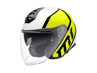 M1 Flux Yellow Jet-Helm