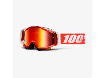 Racecraft Extra Fire red MX Enduro Brille