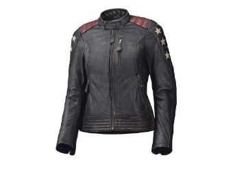 Laxy Damen Lederjacke schwarz