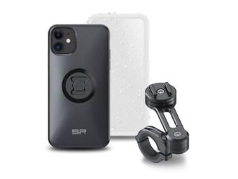 Moto Bundle Handy-Halter iPhone 11 / XR schwarz