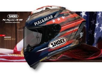 X-Spirit 3 Marquez America TC-2 Helm