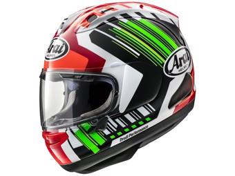 RX-7V Rea green Helm