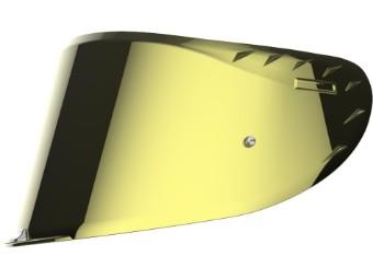 FF327 Challenger C Carbon / Challenger HPFC Visier gold verspiegelt