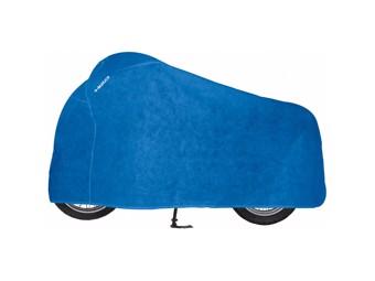 Cover Indoor Motorrad Abdeckplane Faltgarage blau 9005