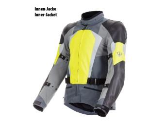 Sport Evo Jacke Gore-Tex schwarz/neon-gelb