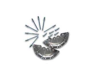 Stahlkappen / Stoßkappen für Trans Open Stiefel