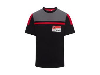 Logo T-Shirt schwarz