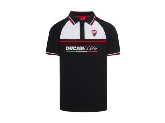 Corse Polo Shirt schwarz