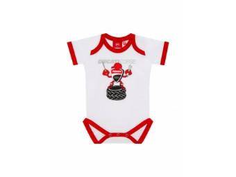 Baby Body Mascotte Ducati Weiß