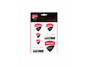 Sticker Ducati Corse Scudetto 2020