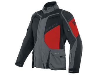 D-Explorer 2 Gore-Tex Jacke dunkel-grau/schwarz/rot