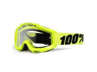 Accuri Goggle Anti-Fog Fluo-Gelb