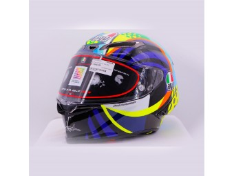 Pista GP RR Winter Test 2020 Soleluna Limited Edition Valentino Rossi Helm