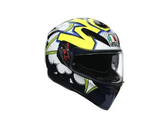 K3 SV Bubble Motorrad Helm