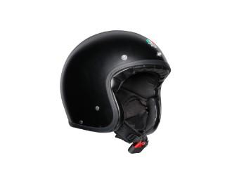 X70 Jet-Helm matt-schwarz