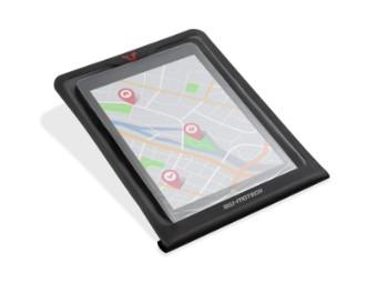 Tablet-Drybag für MOLLE-Aufsatz Schwarz.