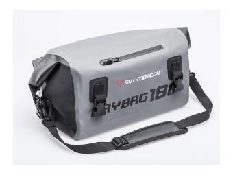 Drybag 180 Hecktasche wasserdicht grau/schwarz