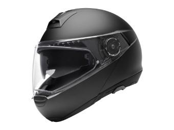 C4 Basic Klapp-Helm matt-schwarz