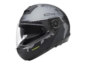 C4 Pro Klapp-Helm Magnitudo Black