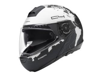 C4 Pro Women Magnitudo White Klapp-Helm