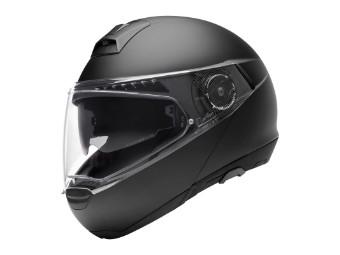 C4 Pro Women Klapp-Helm matt-schwarz