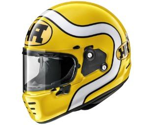 Concept-X HA Yellow Helm Gelb/Weiß