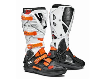 Crossfire 3 SRS fluo-orange/schwarz/weiss MX Offroad Stiefel