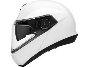 C4 Pro Klapp-Helm Weiß