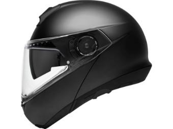 C4 Pro Klapp-Helm matt-Schwarz