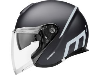 M1 Pro Jet-Helm Strike Black
