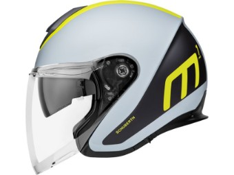 M1 Pro Jet-Helm Triple Yellow