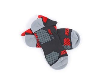 D-Core Footie schwarz/rot